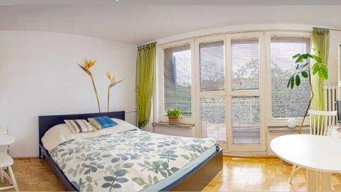 Słoneczny apartament z tarasem
