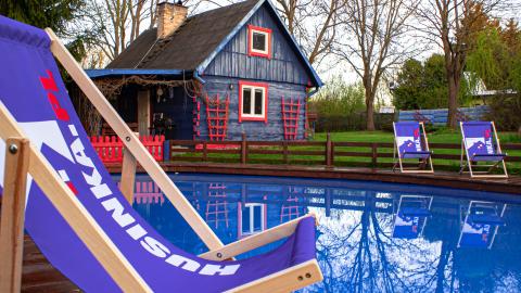 Wyjątkowy domek Husinka z basenem dla 6 osób