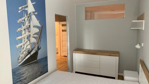 nowy 2 pok apartament 50 m. od plaży