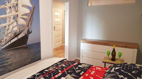 nowy 2 pok apartament 100 m. od plaży