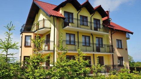 Dom Wypoczynkowy Jantar jest idealny dla rodzin oraz seniorów. Blisko morza.