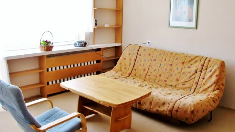 Dwupokojowe mieszkanie w Gdańsku Oliwie z widokiem na morze.