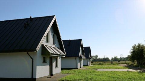 Przytulne i nowoczesne domki koło Łeby.
