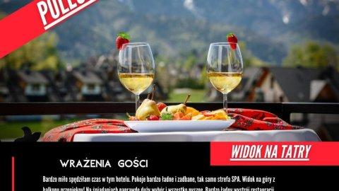 Grand Podhale Resort & Spa Noclegi Zakopane & Widok na Tatry