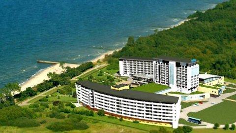 Apartamenty z widokiem na morze Arka